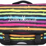 Cartable 41cm Little Marcel Noir RESTOIR POIS Multicolores RESTOR POIS de la marque Little Marcel TOP 2 image 0 produit