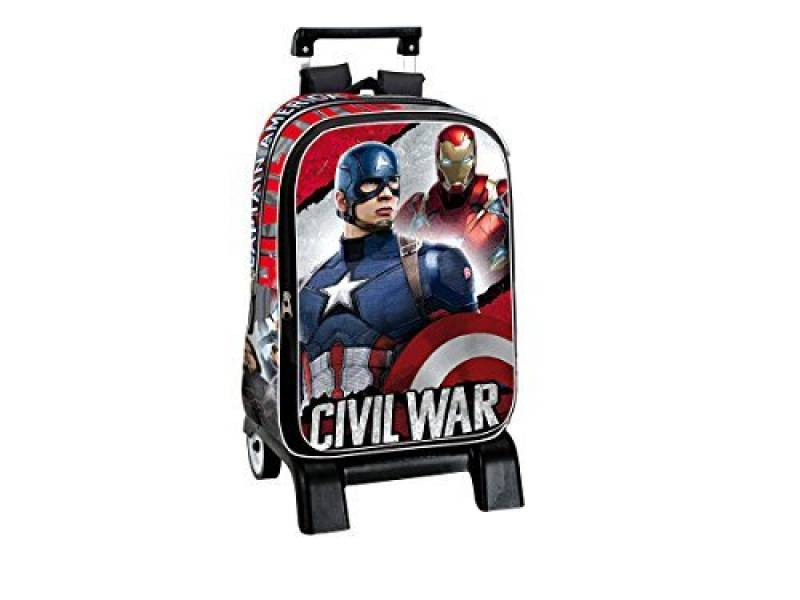 Trolley MARVEL CAPTAIN AMERICA IRON MAN grand sac à roulettes de la marque Avengers TOP 2 image 0 produit