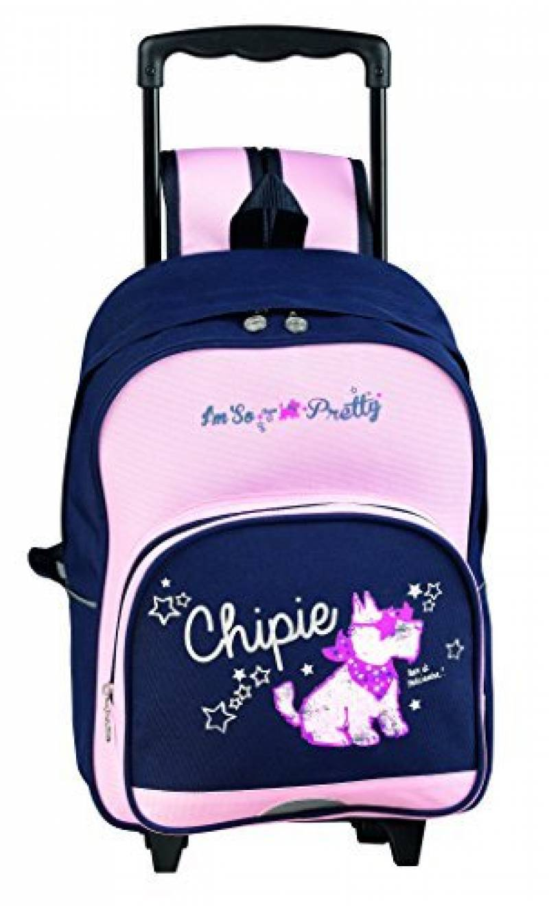 L CHIPIE marque 44 15 de Cartable Pepette Chipie la Bleu cm Rock HrOqHwY
