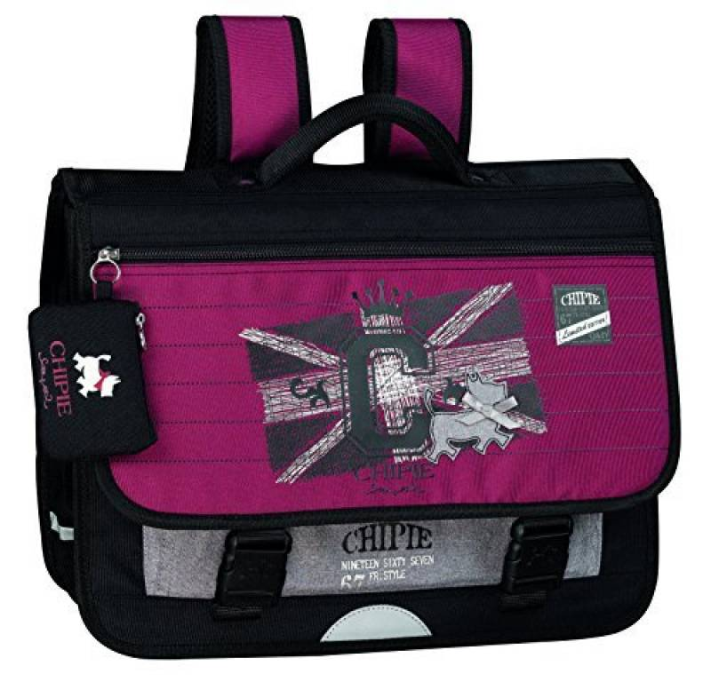 CHIPIE Voltage Cartable, 41 cm, 17 L, Bordeaux de la marque Chipie TOP 2 image 0 produit