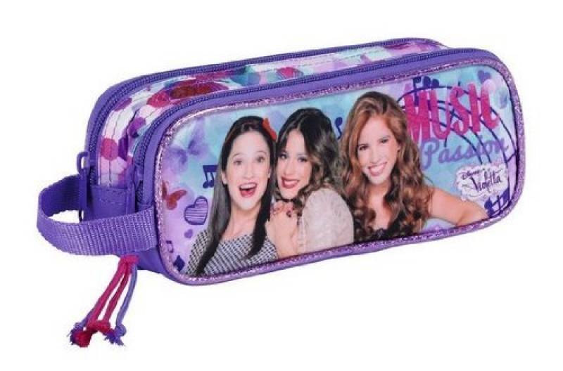 VIOLETTA Double trousse pencil case 21 cm de la marque Disney TOP 4 image 0 produit