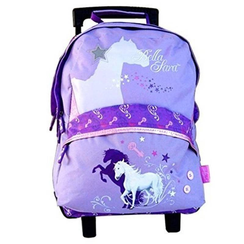 Sac à roulettes - Cartable Cheval fille Bella Sara Magic World de la marque Bella Sara TOP 9 image 0 produit